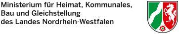 Link zum Ministerium für Heimat, Kommunales Bau und Gleichstellung des Landes Nordrhein-Westfalen