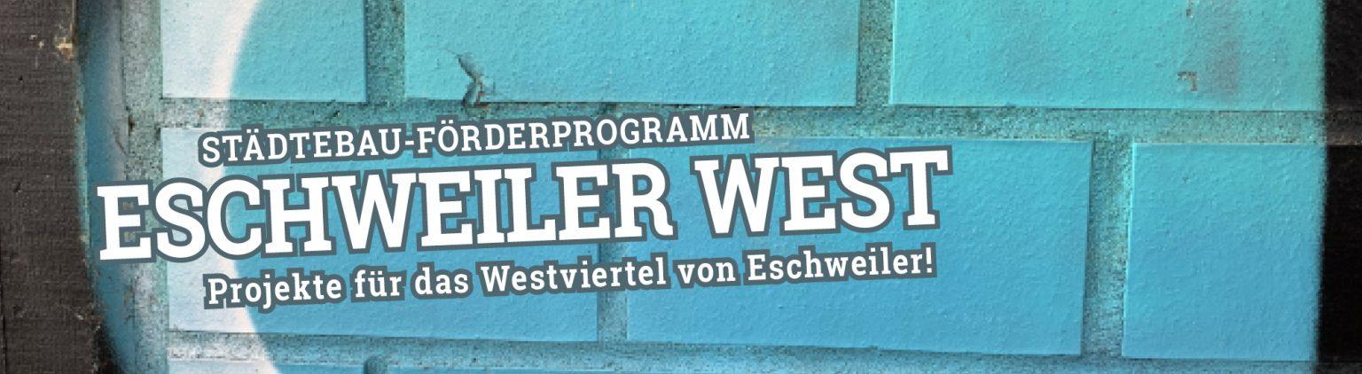Städtebau-Förderprogramm Eschweiler West